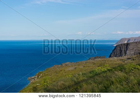 View From North Cape To The Sea