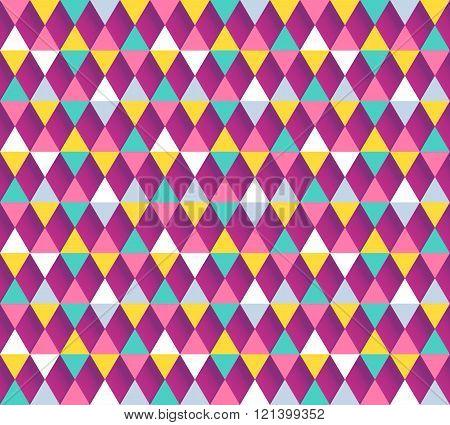 Argyle seamless pattern. Vector illustration.