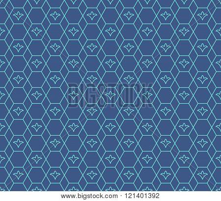 Arabic seamless vector pattern