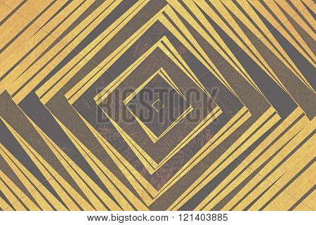 Textured Diamond Shapes Pattern
