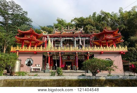 The Baolian Temple In Southern Taiwan