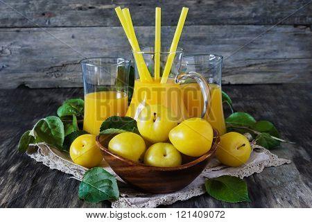 Yellow Plum Juice