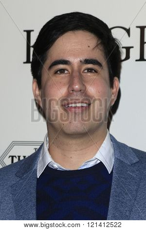 LOS ANGELES - MAR 1: Daniel Hammond attends the Premiere of Broad Green Pictures' 'Knight of Cups'  at The Theatre at Ace Hotel  on March 1, 2016 in Los Angeles, California