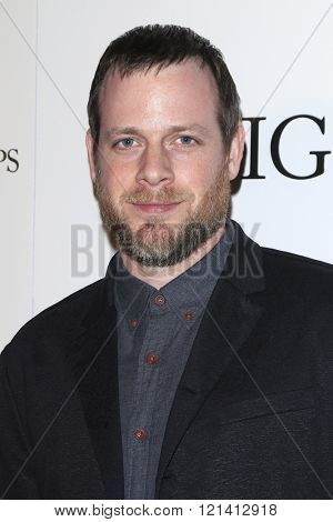LOS ANGELES - MAR 1: Adam Salky attends the Premiere of Broad Green Pictures' 'Knight of Cups'  at The Theatre at Ace Hotel on March 1, 2016 in Los Angeles, California