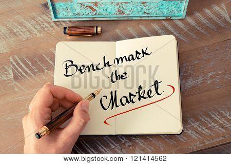 Written Text Benchmark The Market