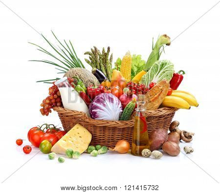 Large variety of food