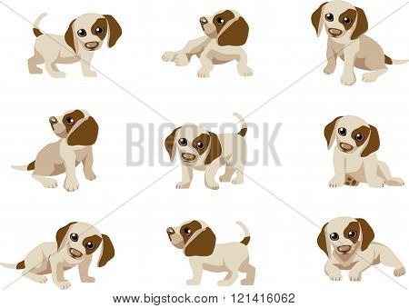 Puppy character set