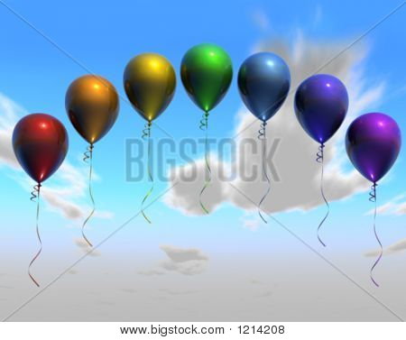 Balloon Rainbow3