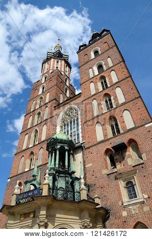St. Mary Church Cracow in Poland