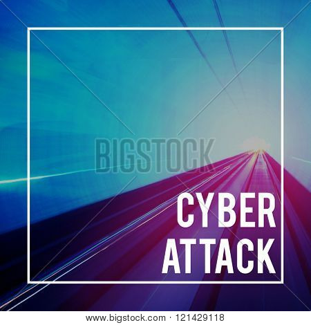 Cyber Attack Digital Electronic Information Internet Concept