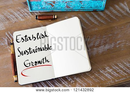 Written Text Establish Sustainable Growth