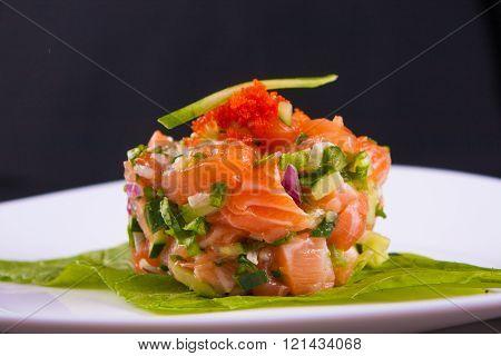 Fresh Salmon Ceviche