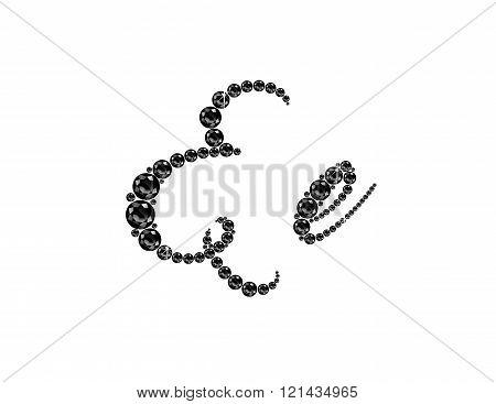 Ee Onyx Script Jeweled Font