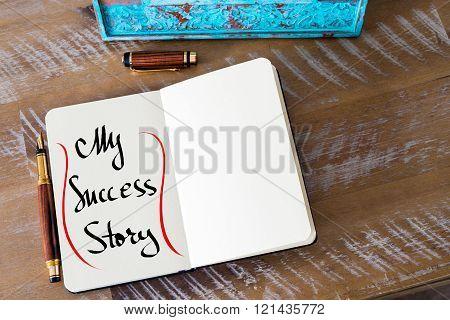 Written Text My Success Story
