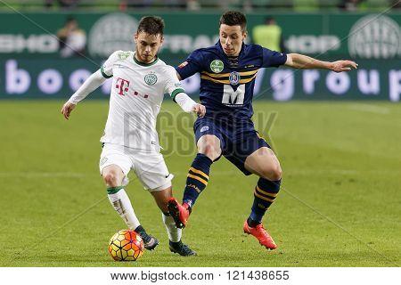 Ferencvaros - Puskas Akademia Otp Bank League Football Match