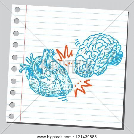Heart and brain crash