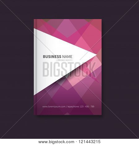 Polygon Book Design For Business