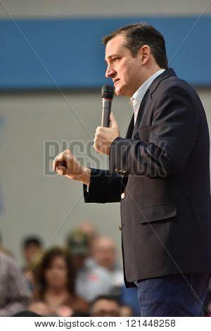 Presidential Candidate Ted Cruz