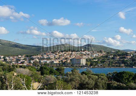 Panoramic View Of Ildir, Cesme - Izmir, Turkey