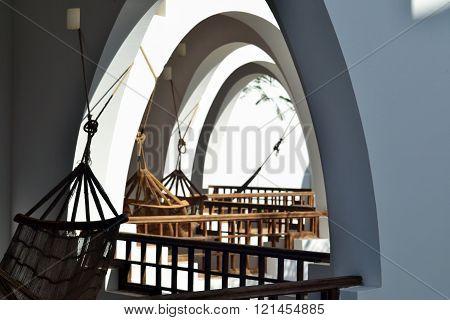 Egypt - Hotel - Rooms - Veranda - Hammock