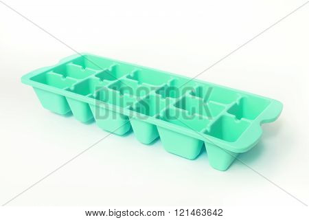Colorful green Ice Tray