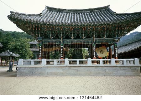 Pavilion at the Beopjusa Temple