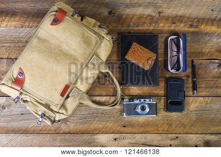 Bag With Contents
