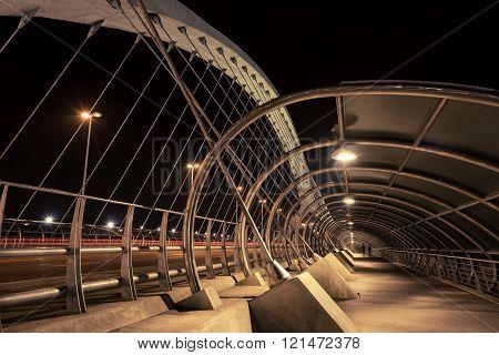 Pedestrian Access Bridge Of The Third Millennium II