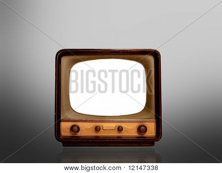 a old television