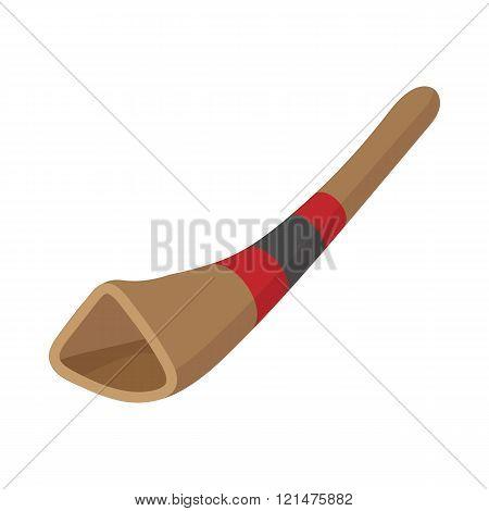 Didgeridoo, australian musical instrument