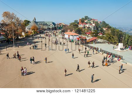 Ridge Road, Shimla