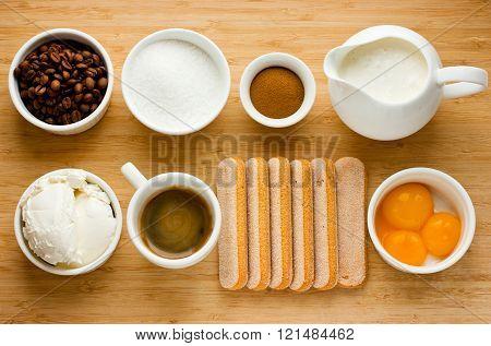 Tiramisu Ingredients