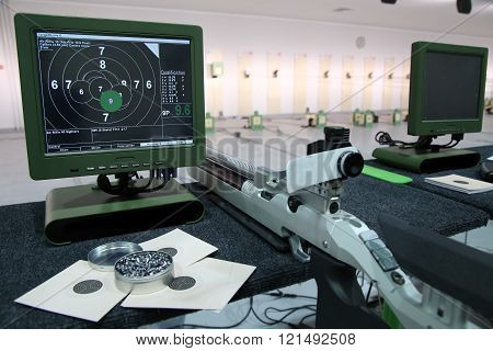 Air Rifle And 10M Target Monitor