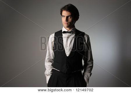 fashion portrait of a man