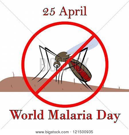 25 April world malaria day