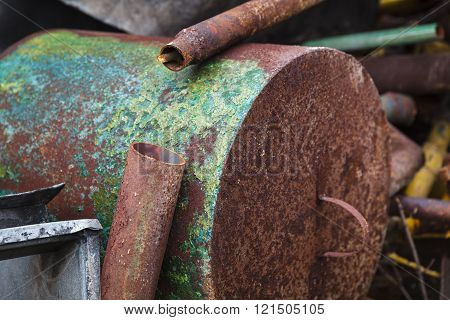 Old Rusty Scrap Metal