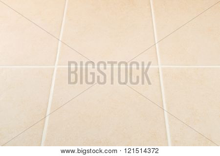 Cream Tile Wall