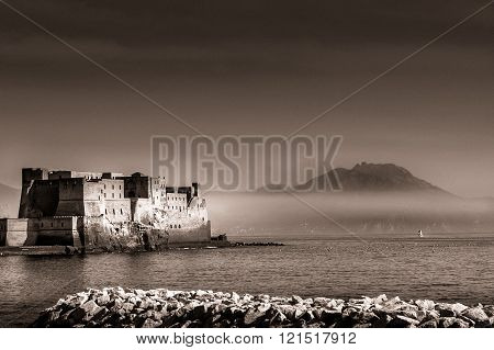 Egg Castle In The Bay Of Naples