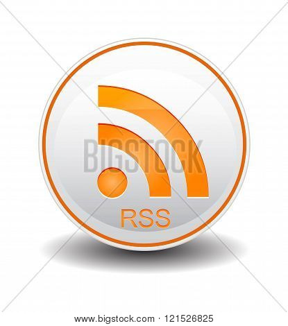 Rss Orange and White Color