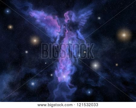 Angel Shaped Nebula