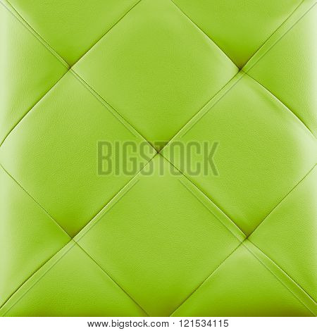 Lime Leather Background