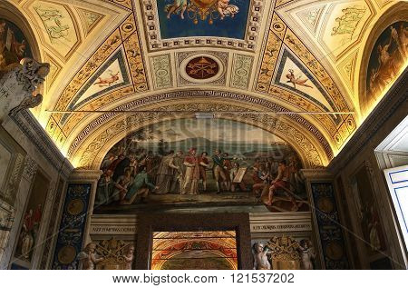The Vatican Library, Vatican Museum, Vatican City