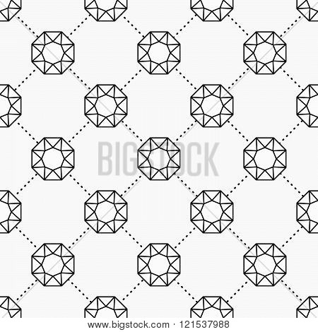 Gemstone pattern