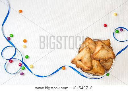 Hamantaschen, Jewish Holiday Of Purim.