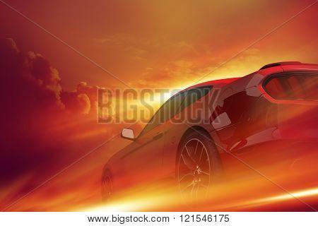Motorsport Car Concept