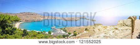 Lindos Beach Island
