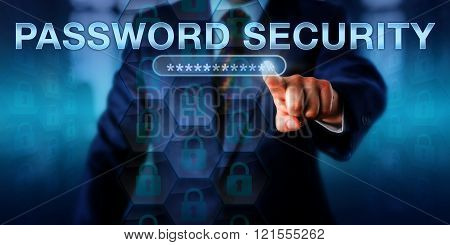 Network User Touching Password Security