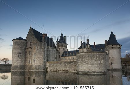 Castle of Sully-Sur-Loire Loiret Centre-Val de Loire France
