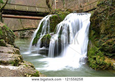 Bigar Romania Waterfall
