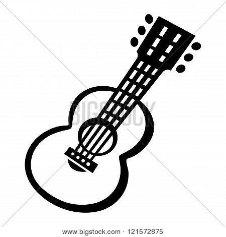 Guitar vector icon
